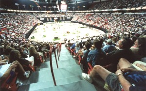 Full House at the Thomas & Mack Center