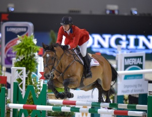 Defending champions Beezie Madden (USA) and Simon finished 7th in the overall standings