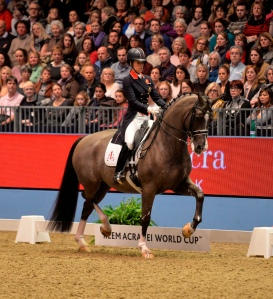 Olympic gold medalist Charlotte Dujardin of Great Britain and Valegro (photo: Kit Houghton/FEI)