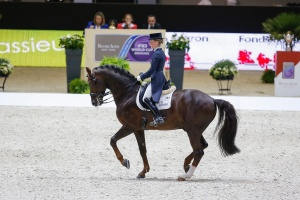 Defending champions Helen Langehanenberg (GER) and Damon Hill NRW finish in second place