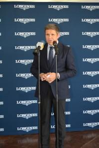 Juan-Carlos Capelli, Vice President - Head of International Marketing of Longines