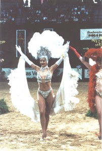 Showgirls add to the glitz and glamour of Las Vegas