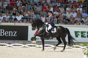 Germany's Matthias Alexander Rath and Totilas<br /> claim victory in the Dressage Grand Prix and Grand Prix Special at 2014 Aachen CHIO © Hippo Foto - Dirk Caremans/FEI