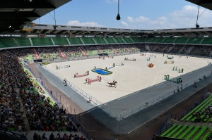 The d'Ornano Stadium in Caen is the venue for the Show Jumping at WEG photo (c) Kit Houghton