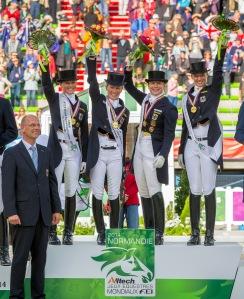 Germany win Team Gold - photo (c) Hippo Foto Team - Leanjo de Koster / FEI