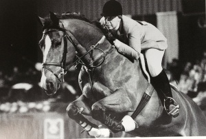 Melanie Smith & Calypso - first female World Cup Champion winning in Gothenburg, Sweden, in 1982