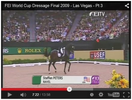 Click here to watch Steffen and Ravel's winning ride at the 2009 FEI World Cup Dressage Final. http://youtu.be/YpzYZMPN4WI